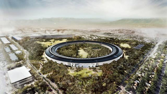 Sir norman foster racconta il nuovo campus apple for Sede apple cupertino