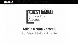 Miglior Studio nella progettazione di SPA