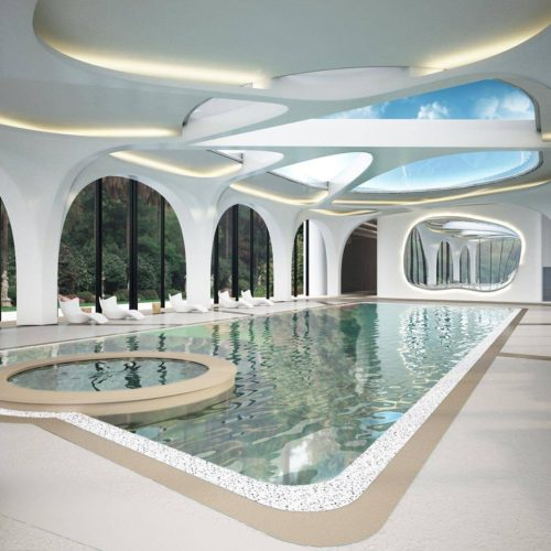 Private SPA and gym
